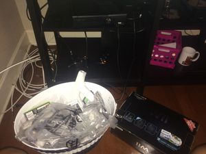 Xbox 360 connect a black wifi and a white wii for sale for Sale in Tampa, FL