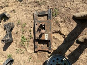 Collapsible gooseneck hitch for Sale in Fruitvale, TX