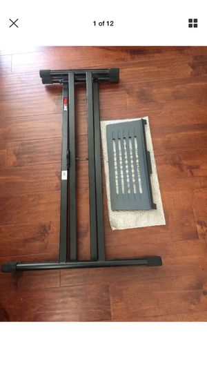 Proline PL400 Knock Down Doublebraced Keyboard Stand+music Stand for Sale in City of Industry, CA