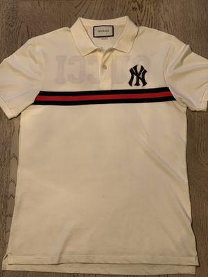 Ny Yankees Gucci Collar Shirt for Sale in Powder Springs, GA