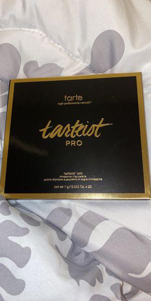 Tarte tarteist pro eyeshadow pallet for Sale in Fairmont, WV