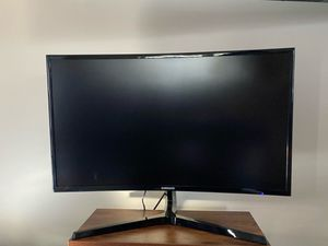 """Samsung curved monitor 27"""" for Sale in Dearborn Heights, MI"""