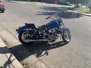 2002 Harley dyna low rider trade for Sale in Modesto, CA