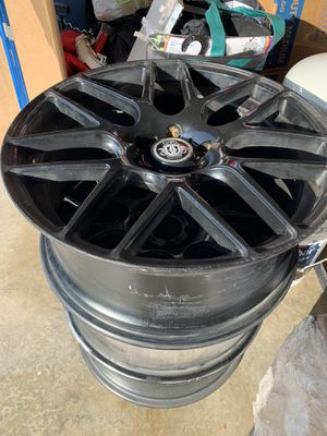 3 Mercedes CLS black rims $200 for all 3 for Sale in Spring Valley, CA