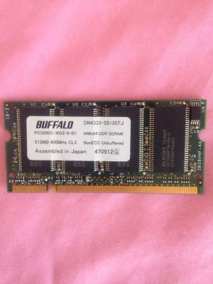 Laptop RAM 512 MB for Sale in Manassas, VA
