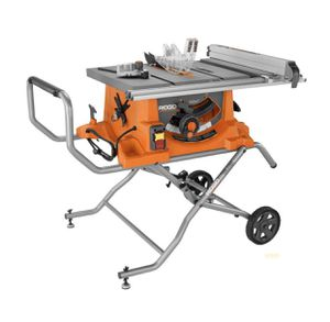 Ridgid Heavy Duty 10 in. Portable Table Saw With Stand for Sale in Queens, NY