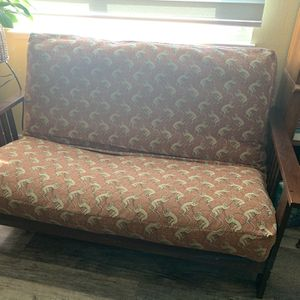 Wood Futon - Fabric Cover for Sale in Byron, CA