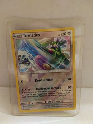 Pokemon Tornadus 178/236 Reverse Holo Uncommon for Sale in El Paso, TX