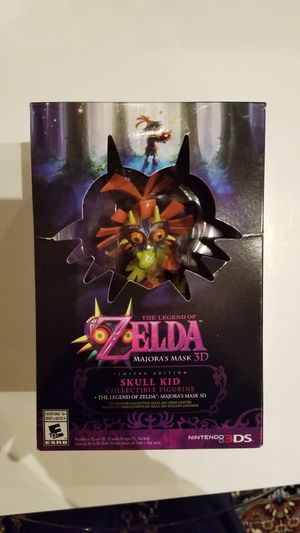 Nintendo zelda majoras mask ltd edi for Sale in Mountain View, CA