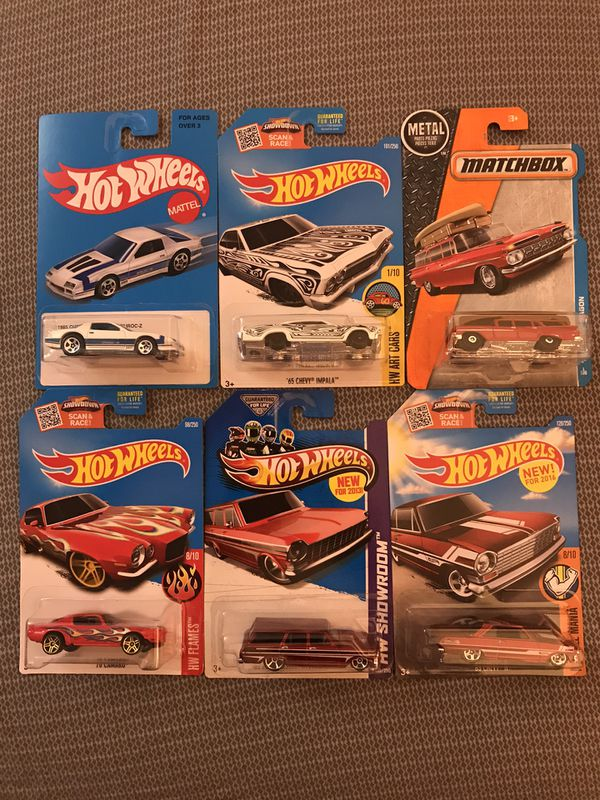 Hot Wheels Chevy lot