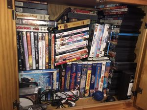 Movies dvds cds vcr tapes for Sale in Glocester, RI
