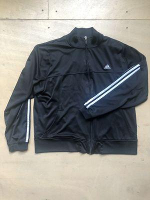 Adidas Black Track Jacket Women's XL for Sale in Olympia, WA