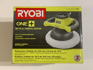 RYOBI 18-Volt ONE+ Cordless 10 in. Orbital Buffer P435 for Sale in Garden Grove, CA
