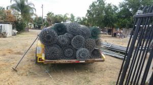 900 feet of 6' chain link fence 9gaga for Sale in Nuevo, CA