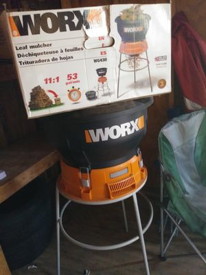 Worx leaf mulcher for Sale in Woodbridge, VA