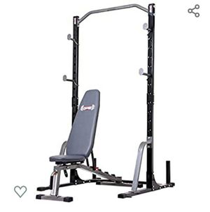 Brand new squat rack and bench combo 650 lb cap for Sale in Rockville, MD