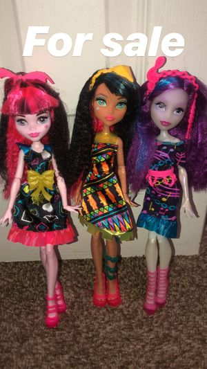 Monster high dolls for Sale in Lafayette, LA