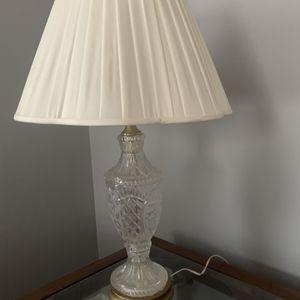 Cut Glass Lamps for Sale in Leesburg, VA