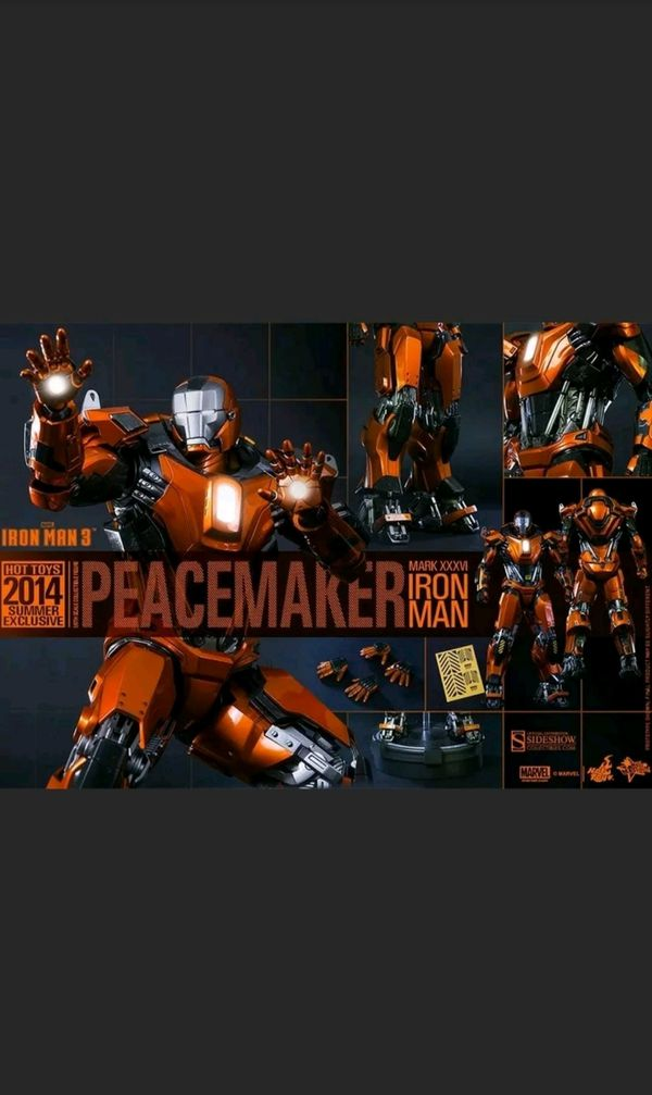 Hot Toys Iron Man Peacemaker Collectible figure