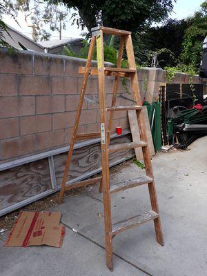 6 feet wood ladder for Sale in Norwalk, CA