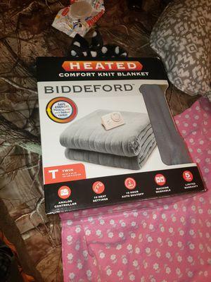 Biddeford TWIN electric heated blanket for Sale in Waller, TX