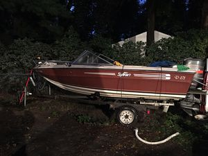 1987 sylvan boat and trailer for Sale in Burnsville, MN