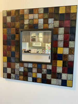 Wall accent mosaic mirror for Sale in Miami, FL
