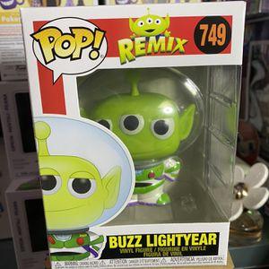 Authentic Funko Pop! Pixar Alien Remix as Buzz Lightyear for Sale in Baldwin Park, CA