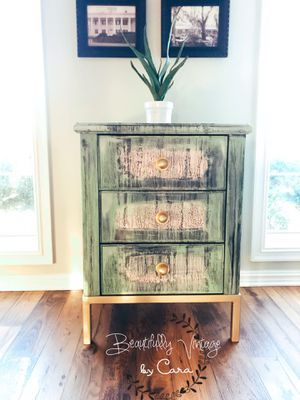 Vintage 3 drawer chest ~ Bohemian flair for Sale in Farmerville, LA