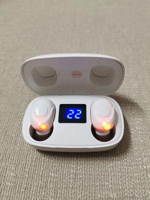Bluetooth True Wireless Earphone 5.0 Earbuds Waterproof Music Headset for Sale in City of Industry, CA