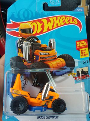 2020 🚜 grass chomper 1/64 scale 🔥 hot wheel (half off only if you pickup) for Sale in Long Beach, CA