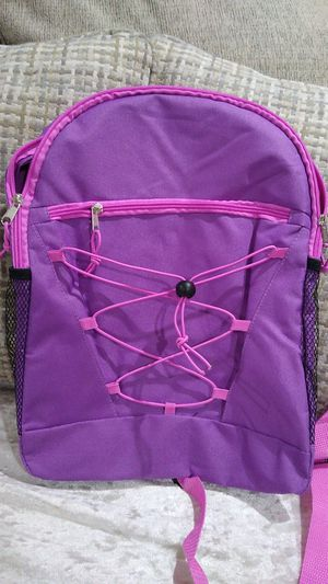 Purple and pink backpack for Sale in Los Angeles, CA