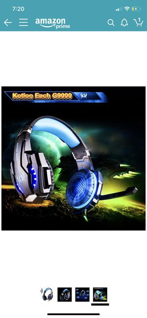 Kotion each g9000 pro gaming headset for Sale in Greenville, SC