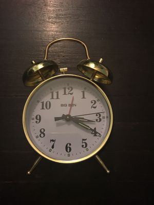Twinbell Alarm Clock for Sale in Long Beach, CA