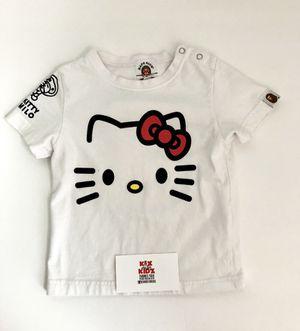 Kids Bape x hello kitty shirt for Sale in Portsmouth, VA