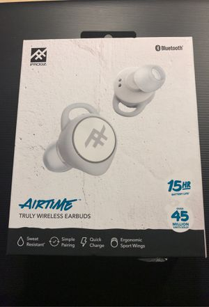 Airtime truly wireless earbuds for Sale in Sunnyvale, CA
