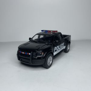NEW 2013 Black Police Pickup Truck Car Toy Ford F-150 SVT Raptor Supercrew F150 with Sirens for Sale for sale  Trenton, NJ