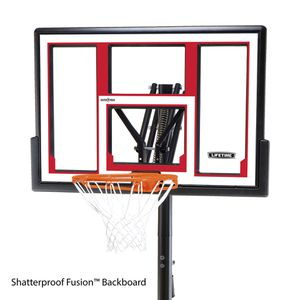 "Lifetime 48"" Adjustable Portable Basketball Hoop for Sale in Woodbridge, VA"