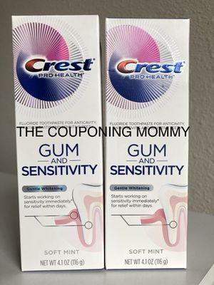 Oral Care Bundle w/ Crest 3D Pro Health Sensitive Toothpaste (( 2 tubes )) for Sale in Clovis, CA