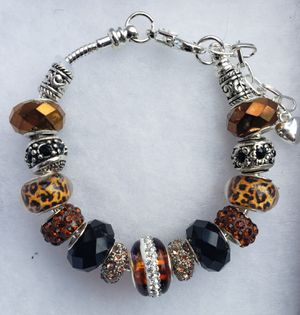 Brown charm bracelet 1 for $15 or 2 for $25 for Sale in Baltimore, MD