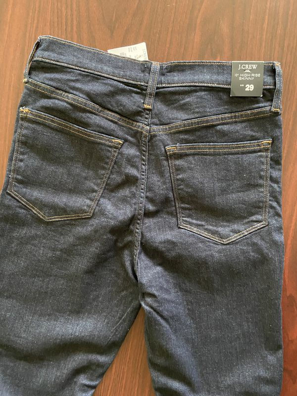 """J.CREW 10"""" high-rise skinny Jeans size 29"""