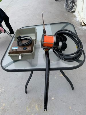 LP LINDGREN-PITMAN electric fishing reel 24 V for swordfish for Sale in Miami, FL