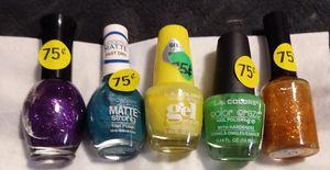 5 bottles of Fingernail Polish for Sale in Everett, PA