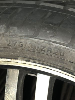 4 tires with rims $1000 or best offer for Sale in Baltimore, MD