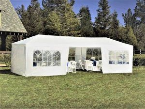 NEW 10' x 30' White Outdoor Canopy Tent w/ 8 walls, unopened for Sale in Sully Station, VA