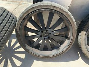 Set of Tires with rims for Sale in Las Vegas, NV