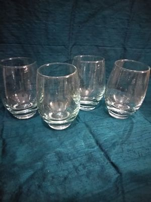Vintage Mid Century Blue tint Highball Tumbler Glasses for Sale in Pittsburgh, PA