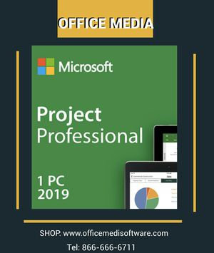 Microsoft Project professional 2019 for Sale in San Francisco, CA