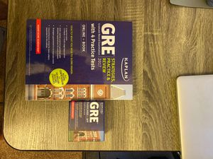 GRE Test Prep Book and Flashcards for Sale in Scottsdale, AZ