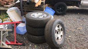 Stock Chevy wheels and tires for Sale in Newberg, OR